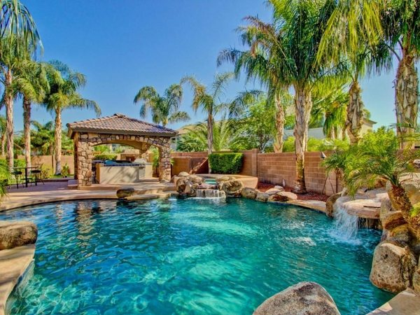 Tropical pools - beautiful and exotic landscape ideas on Tropical Backyards  id=59595
