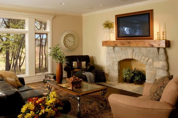 Frame Your TV And Blend It In The Home