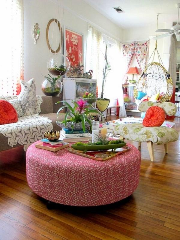 Boho room decor ideas - how to create bohemian chic interiors? on Bohemian Living Room Decor Ideas  id=60265