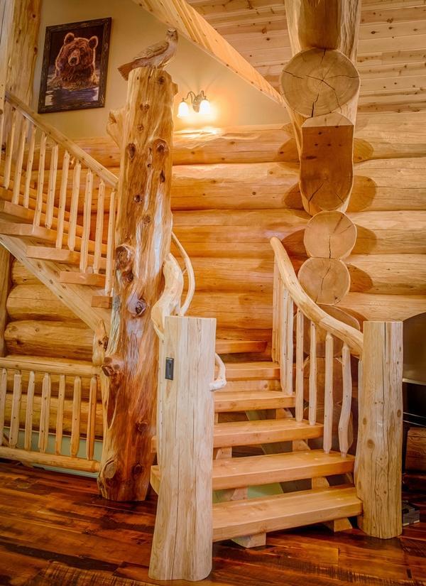 Log Cabin Interiors Beautiful Rustic Design And Decoration Ideas