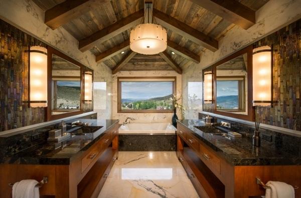 50 Impressive Bathroom Ceiling Design Ideas