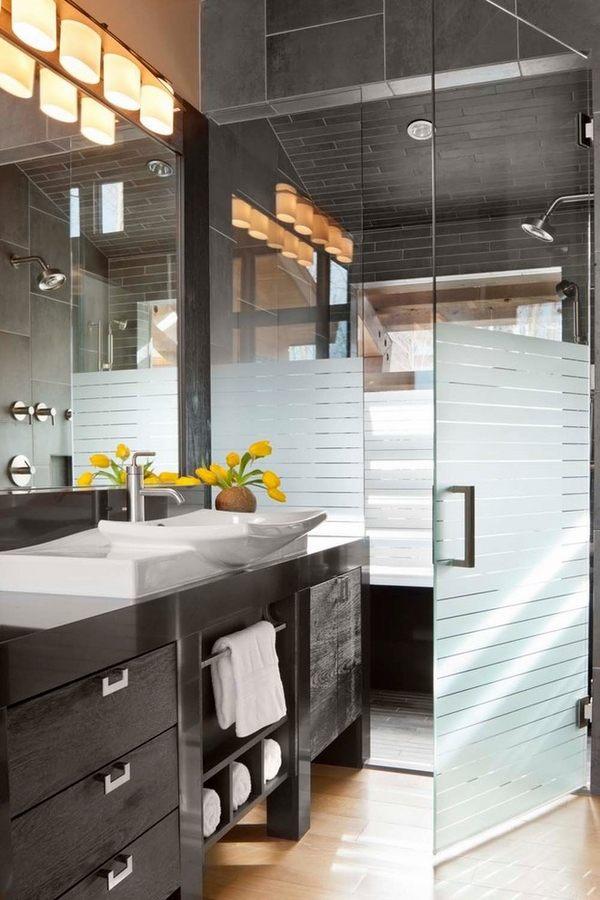 Modern shower enclosures - contemporary bathroom design ideas on Small Bathroom Ideas With Shower id=80151