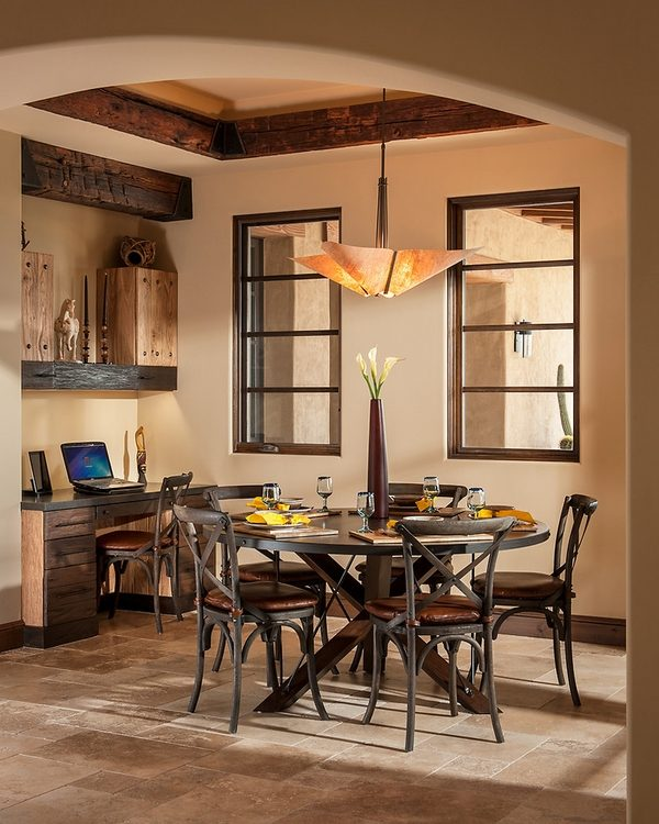 Ceiling beams in interior design - how to incorporate them ... on Dining Table Ceiling Design  id=86971