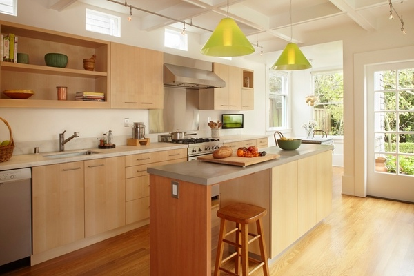 Maple cabinets - a good choice for elegant and modern ... on Maple Cabinet Kitchen Ideas  id=56920
