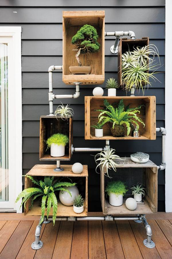 Flower stand ideas to display your plants in a beautiful way on House Plant Stand Ideas  id=19662