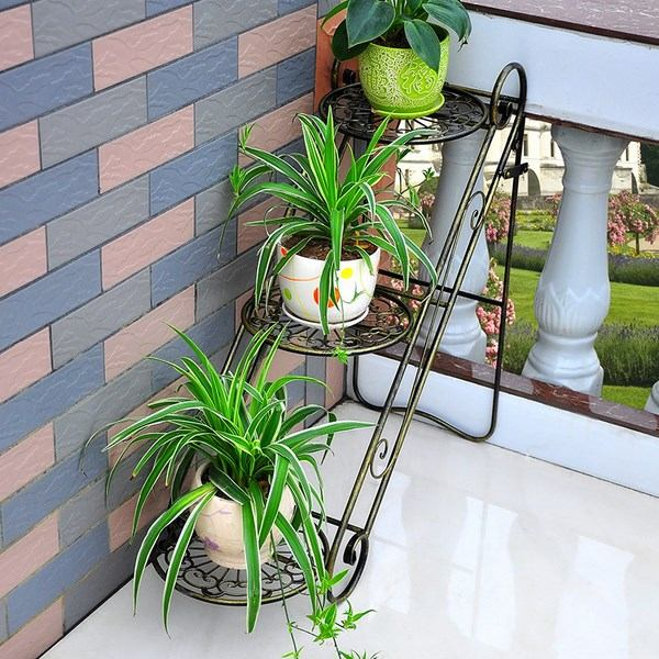 Flower stand ideas to display your plants in a beautiful way on Iron Stand Ideas  id=88752
