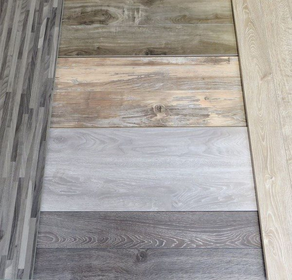 Grey Hardwood Floors In Interior Design And Cool Color Combinations