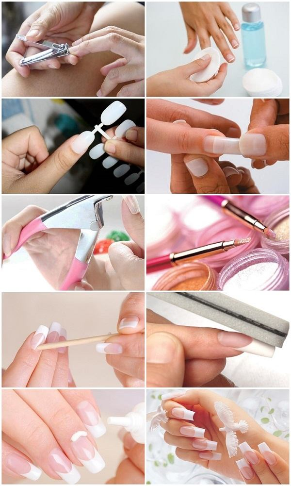How To Do Acrylic Nails At Home Diy Instructions And Tips