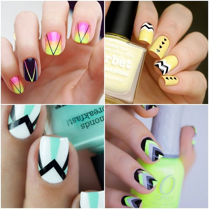 Geometric Nail Art Tips And Tricks For Fashionable Designs