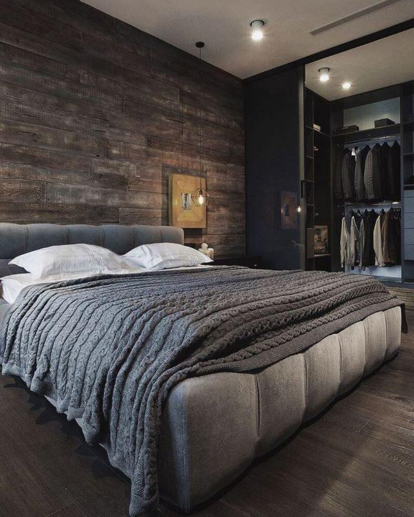 Masculine bed frames and inspiring bedroom interior ideas on Bedroom Ideas For Guys  id=18848