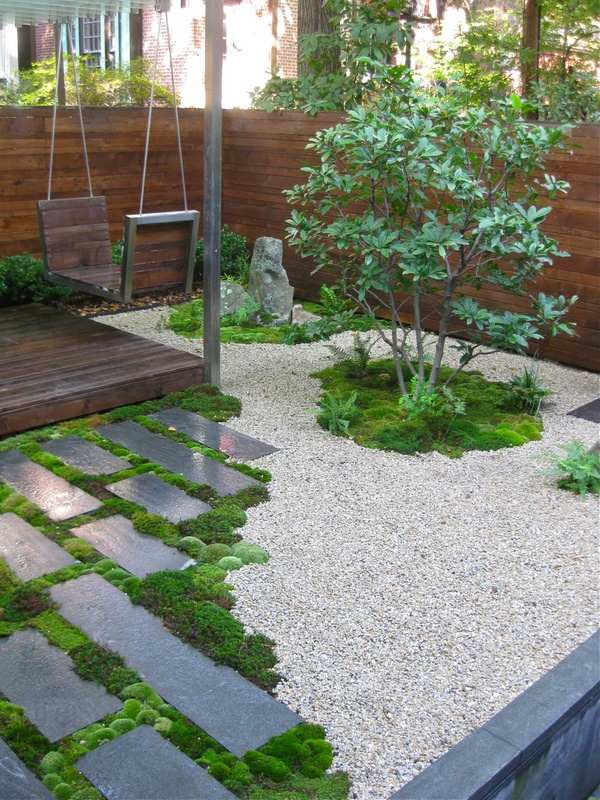 How to grow moss indoors and outdoors - useful tips for ... on Small Backyard Stone Patio Ideas id=54444