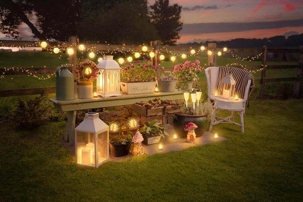 11 diy outdoor string lights ideas to