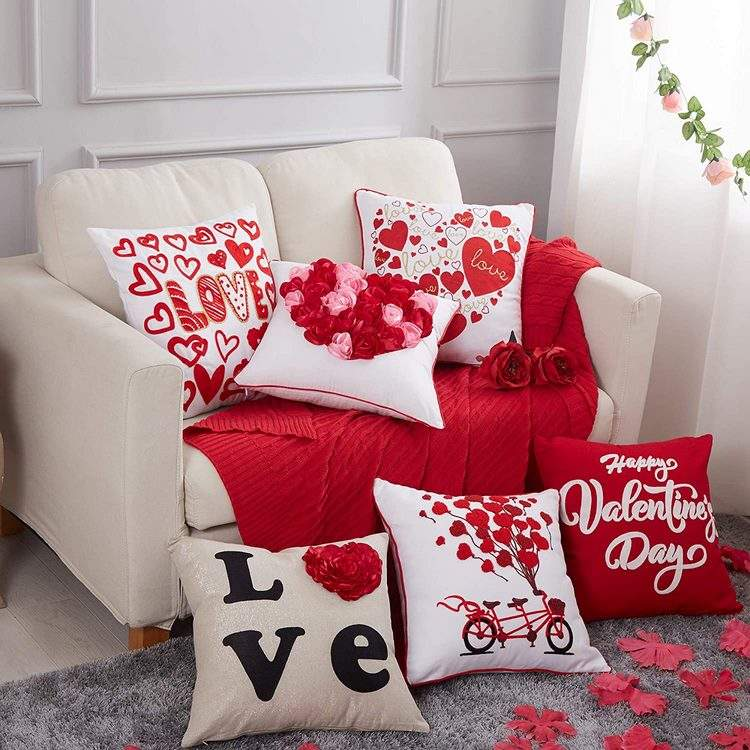 40 diy valentines day throw pillow