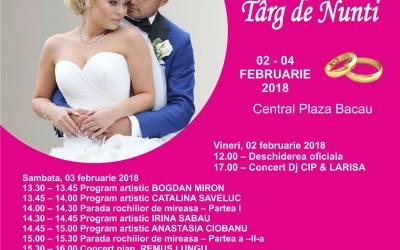 În acest weekend – Târg de nunți la Central Plaza Bacău