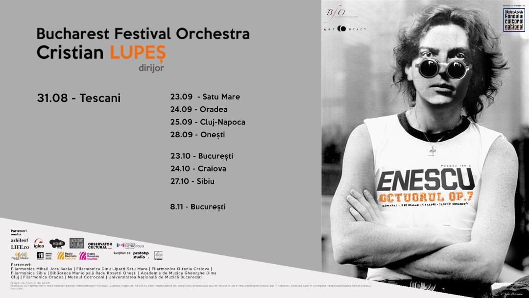 Turneul național 100 x Enescu începe la Tescani