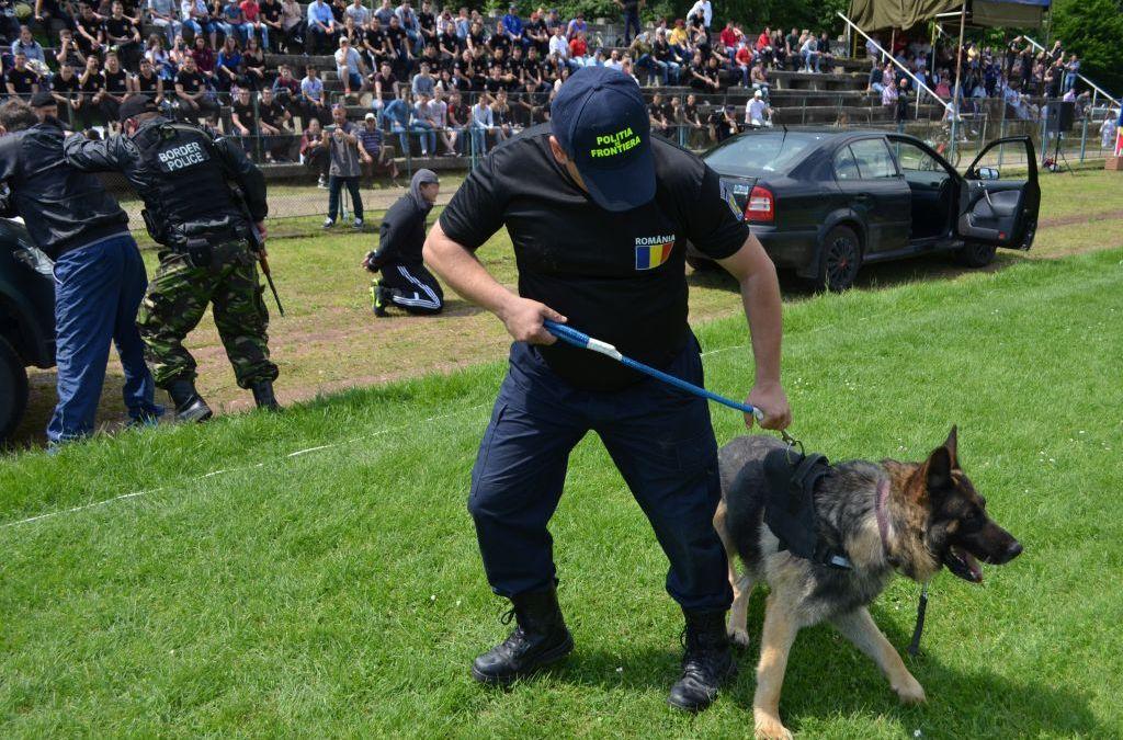 IPJ Bacău cedează cu titlu gratuit trei câini de serviciu