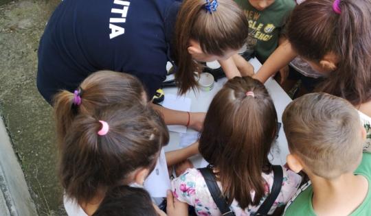 Acțiuni de prevenire la școala de vară din comunele Horgești, Sărata și Letea-Veche