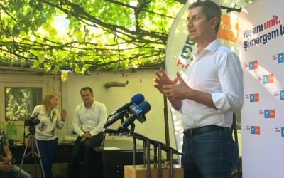 Barna, în campanie electorală la Bacău