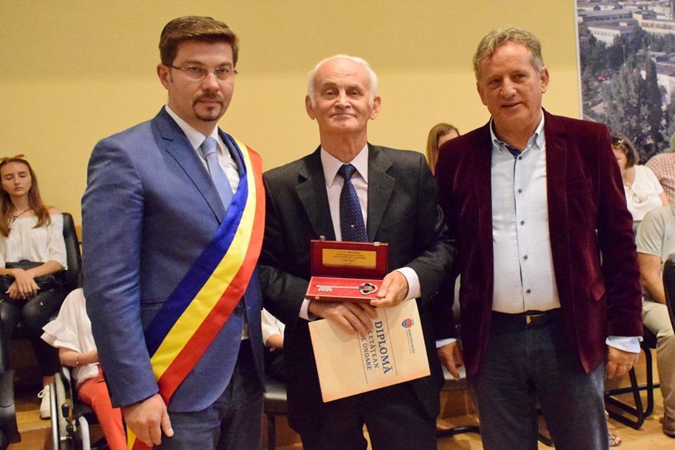 Bacăul are încă un cetățean de onoare (FOTO)