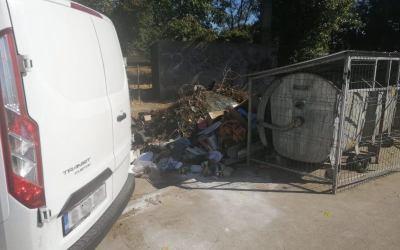 Persoană depistată depozitând resturi de materiale în alte locuri decât cele autorizate