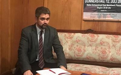 Candidatul PMP la președinție, Theodor Paleologu, s-a întânlit cu simpatizanții băcăuani