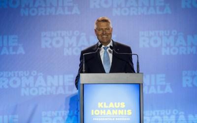 Klaus Iohannis își încheie campania electorală în Bacău