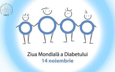 Instituţia Prefectului, iluminată în albastru de Ziua Mondială a Diabetului