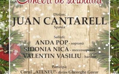 Concert de Sărbători la Filarmonica Mihail Jora Bacau