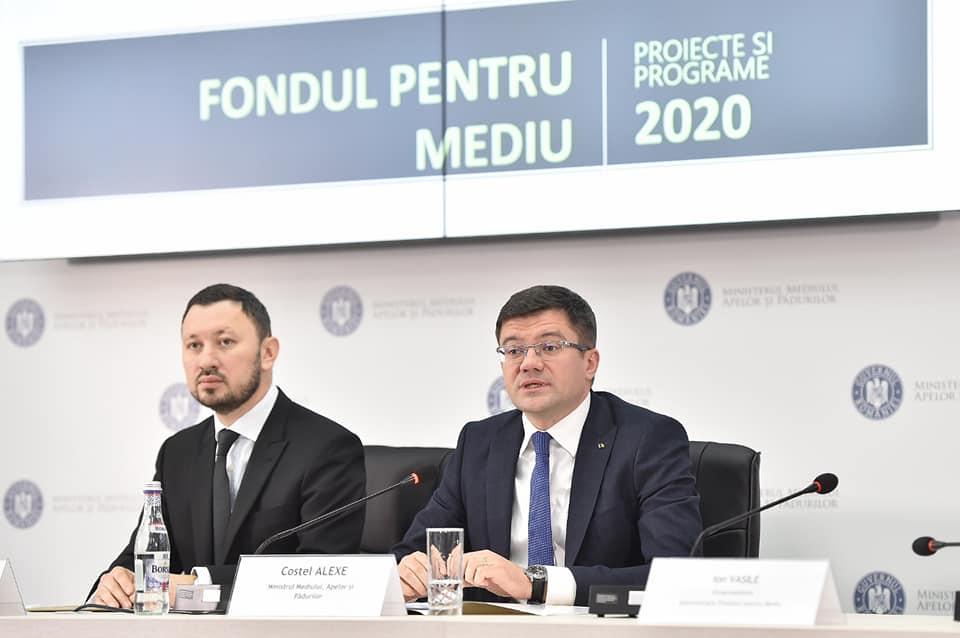 Au fost lansate proiecția bugetară și lista programelor care vor fi finanțate anul acesta prin Administrația Fondului pentru Mediu