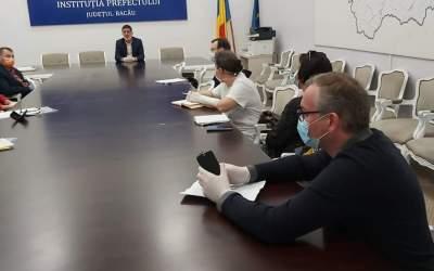 Campania umanitară din Județul Bacău coordonată de Liviu Miroșeanu