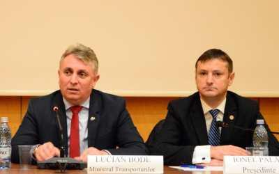 """Ministrul Lucian Bode: """"Doar rău-voitorii și mincinoșii pot contesta că autostrada A13 Brașov-Bacău se va realiza pe exercițiul bugetar 2021-2026"""""""