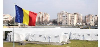 Spital modular militar de campanie, instalat în câteva zile în Bacău