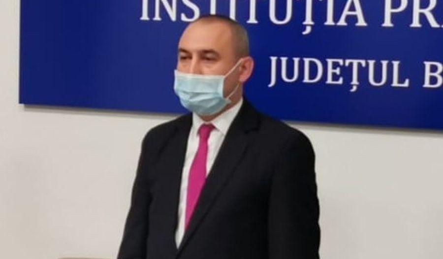 Prefectul judeţului Bacău, Sorin Gabriel Ailenei, confirmat cu coronavirus