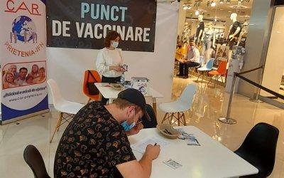 Campanie de vaccinare la Arena Mall