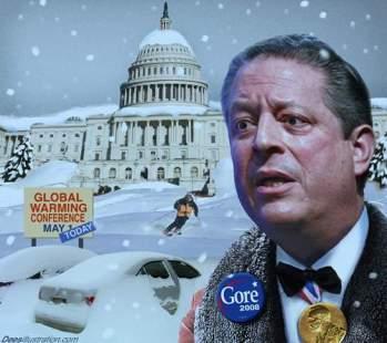Deesillustrations.com - Al Gore