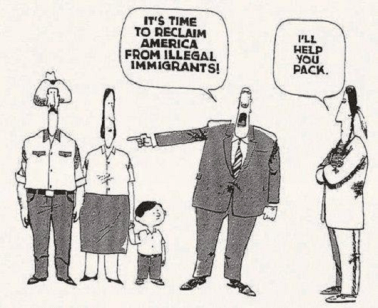 It's time to reclaim America from illegal immigrants. I'll help you pack.