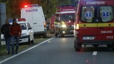 Accident rutier pe Calea Sever Bocu
