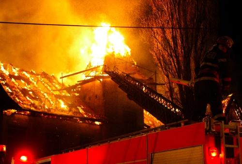 Incendiu Odobescu