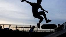 Skatepark, în Parcul Central