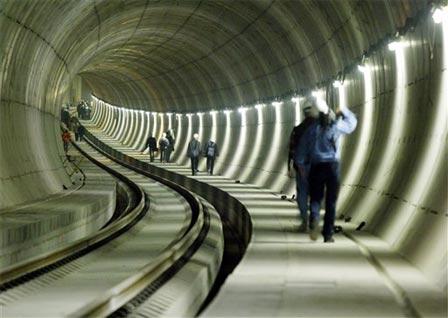 tunel de metrou