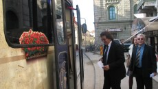 Nicolae Robu, cu tramvaiul