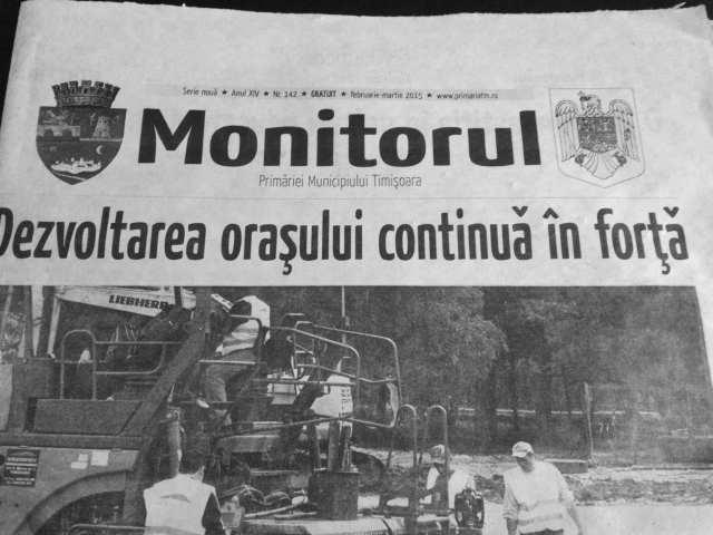 monitorul primariei