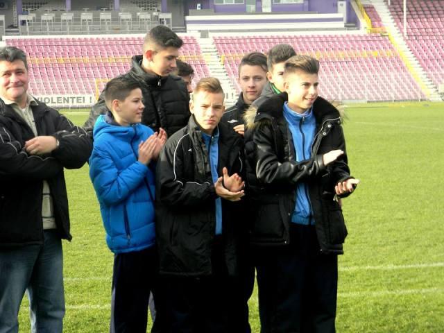 fotbalisti mici poli