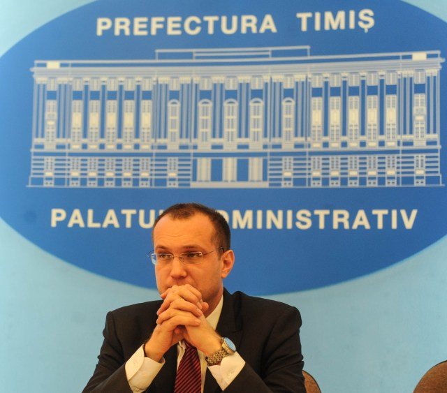 Eugen Dogariu prefect Timis