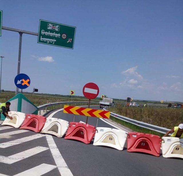 restricții de trafic