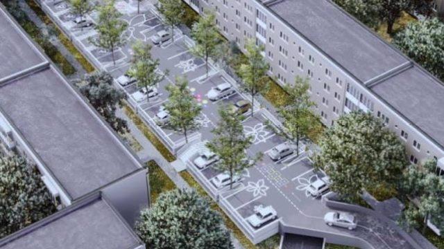 Parcare supraetajată în zona Girocului