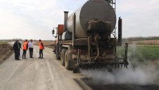 Lucrări în ritm alert pe drumul județean Valea Lungă Română - Cliciova