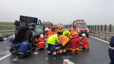 Accident Autostrada Timișoara - Arad