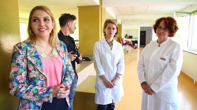 Daliana Tătar, salvată de celule stem donate de un englez