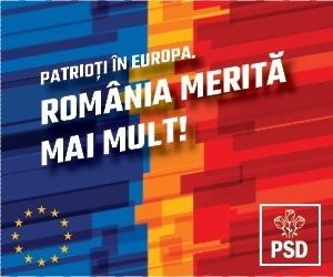 PSD - România merita mai mult!